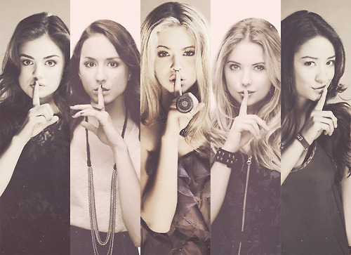Pretty Little Liars Hintergrund titled pll