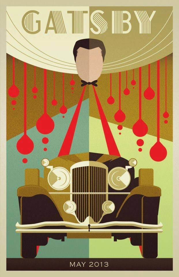 Great gatsby orginal movie poster