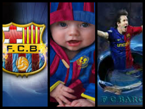 FC Barcelona wallpaper containing anime entitled r7i6