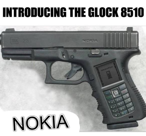 NOKIA THE GLOCK 8510