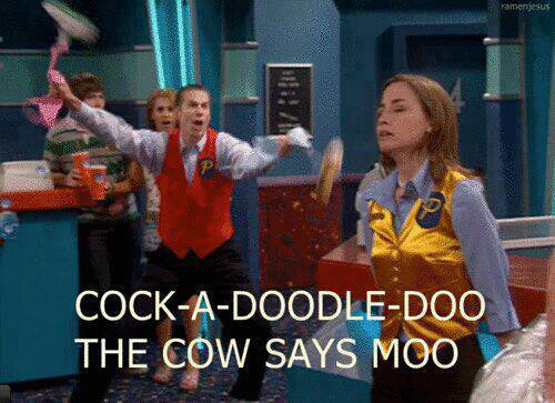 COCK-A-DOODLE-DOO THE COW SAYS MOO