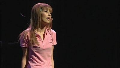 rei yoshii as Orihime in rock musical