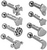 Piercings photo called tongue rings