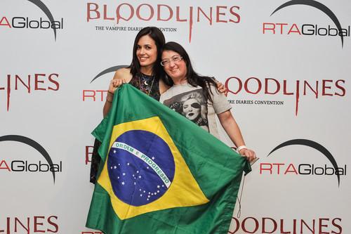 tvd cast Brasil