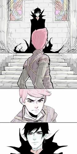 vampire king vs. prince gumball