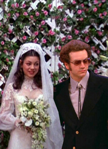 Jackie & Hyde Обои titled wedding