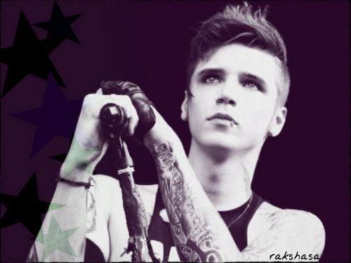 Rakshasa's World of Rock N' Roll achtergrond called ★ Andy Biersack ☆