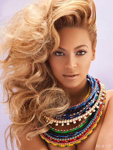Beyoncé سے طرف کی Tony Duran For Flaunt Magazine July 2013