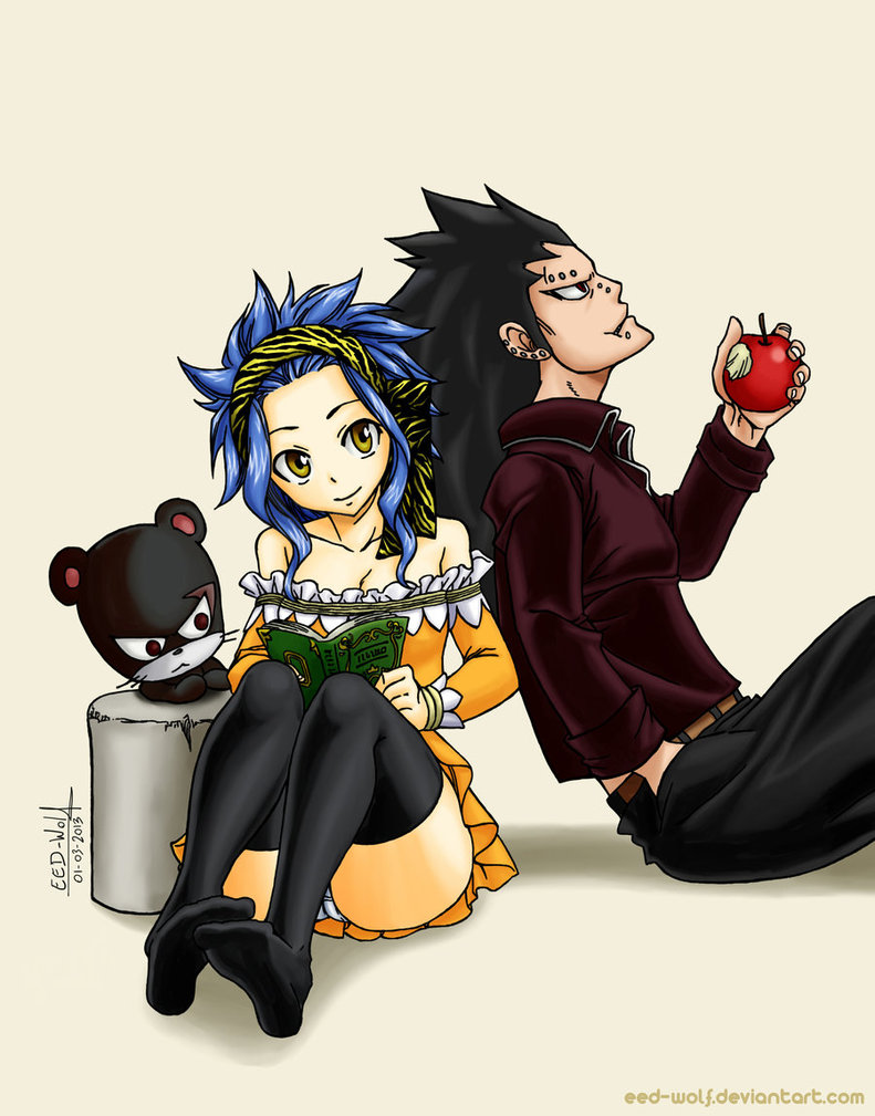 gajeel x levy family - photo #18