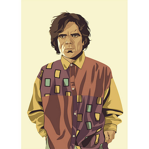 'Game of Thrones' characters in retro clothes