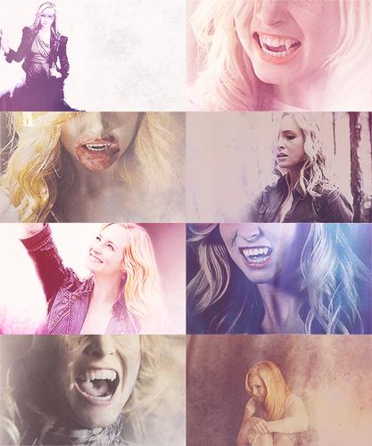 """I'm not girly little Caroline anymore. I can handle myself."""