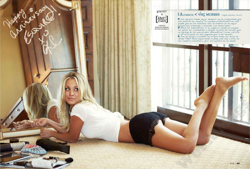 Kaley Cuoco fond d'écran with a living room and a drawing room titled Kaley <3