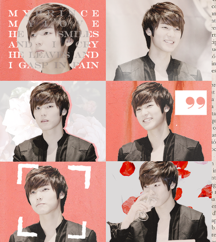Kang Min Hyuk দেওয়ালপত্র probably with a portrait titled ♦ Minhyuk ♦