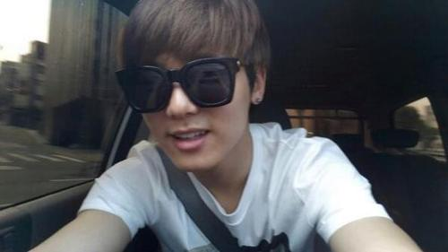 Kang Min Hyuk achtergrond containing sunglasses called ♦ Minhyuk ♦