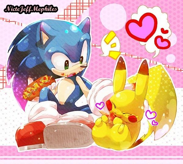 :.: Sonic & 皮卡丘 ^-^ :.: