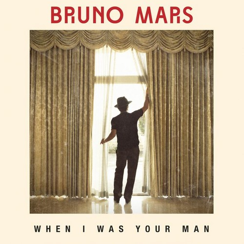 """WHEN I WAS YOUR MAN"" SINGLE COVER - bruno-mars Photo"