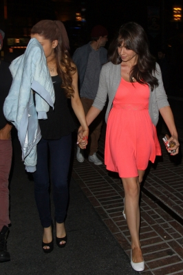 07.July - Leaving The Grove Movie Theater with Colleen Ballinger and Isaac Calpito in LA