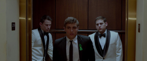 Dave Franco wallpaper with a business suit titled 21 Jump Street (2012)
