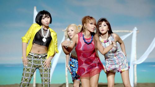 2NE1 - Falling in pag-ibig M/V screencaps