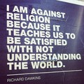 Against religion - atheism photo