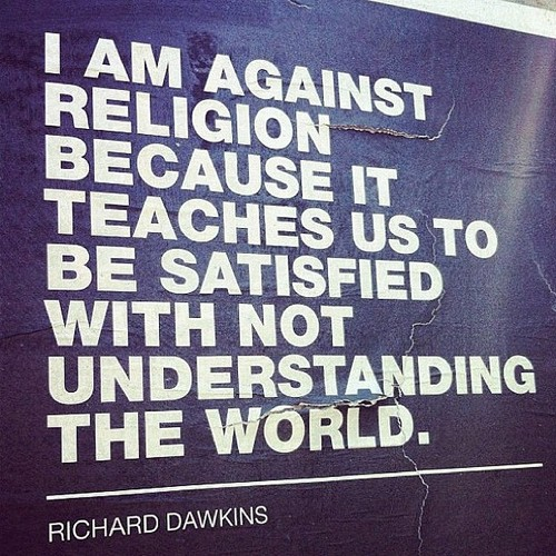 Against religion