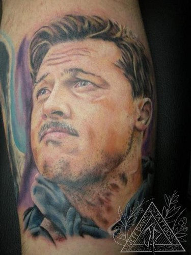 Aldo Raine tattoo