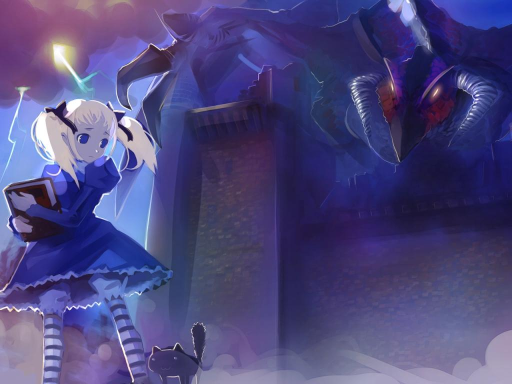 Alice in Wonderland achtergrond