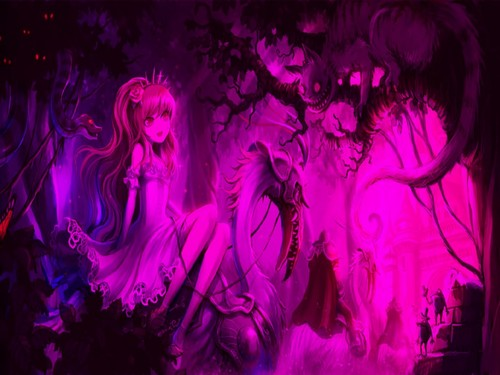 Alice in Wonderland hình nền