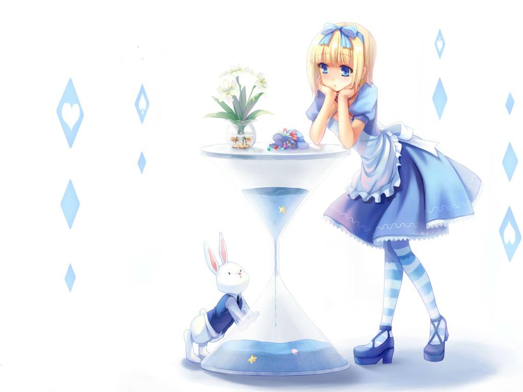 Alice in Wonderland fond d'écran