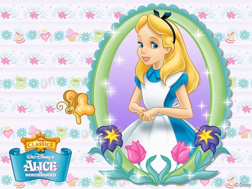 disney fondo de pantalla called Alice in Wonderland fondo de pantalla