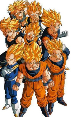 All the good ssj