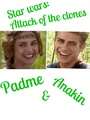 Anakin and Padme  - star-wars-attack-of-the-clones fan art