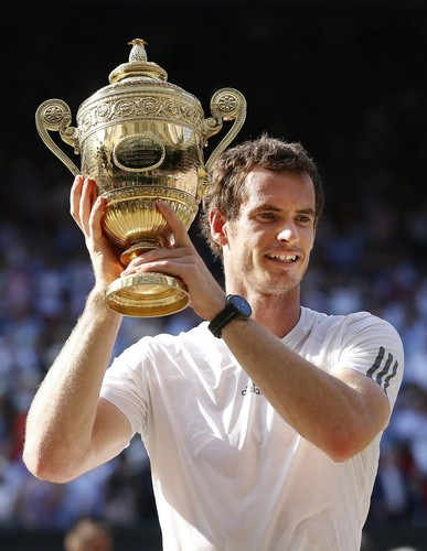 Andy Murray Wimbledon 2013