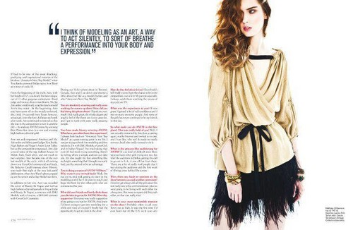 Ann Ward for Velvet magazine