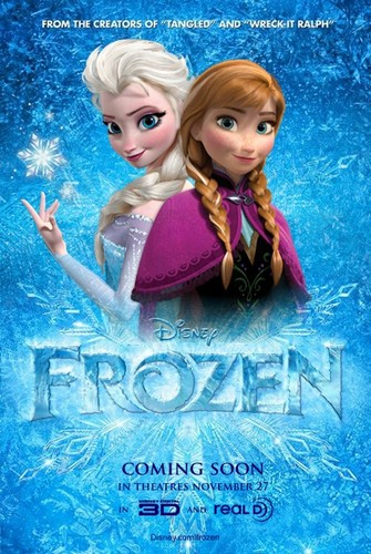 Anna and Elsa Fanmade poster