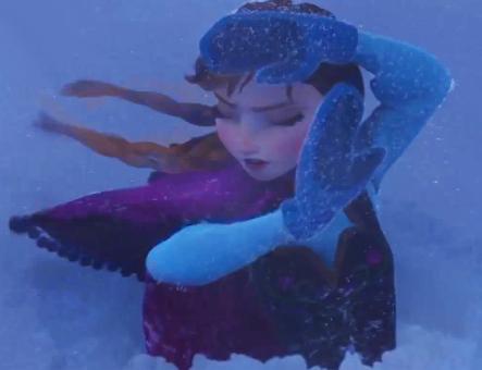Anna at Snow