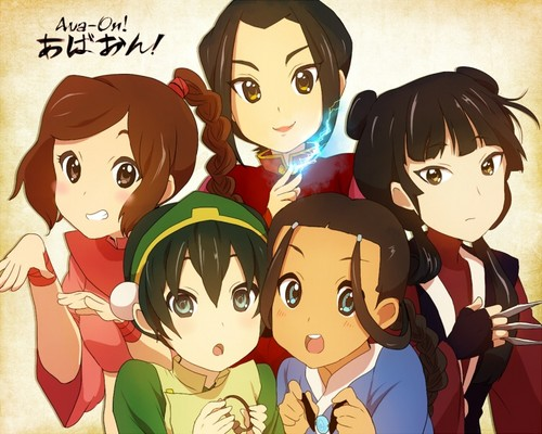 Avatar: The Last Airbender & K-On crossover