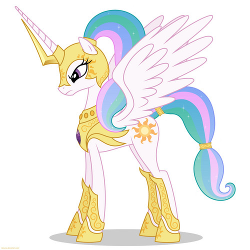 Princess Celestia fond d'écran with animé called Awesome Celestia pics