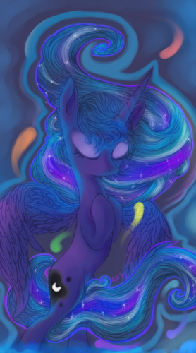 Princess Luna fond d'écran called Awesome Luna pics