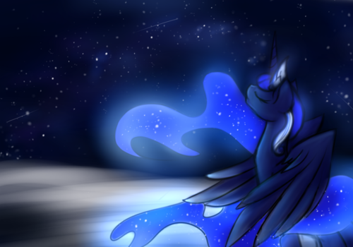 Princess Luna پیپر وال called Awesome Luna pics