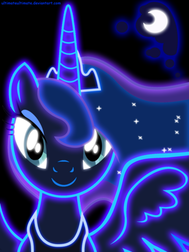 Princess Luna fond d'écran entitled Awesome Luna pics
