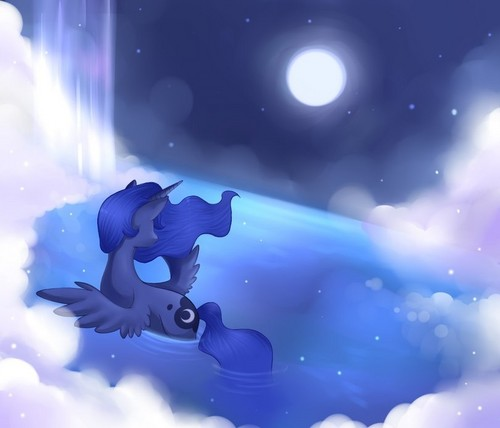 Princess Luna দেওয়ালপত্র called Awesome Luna pics
