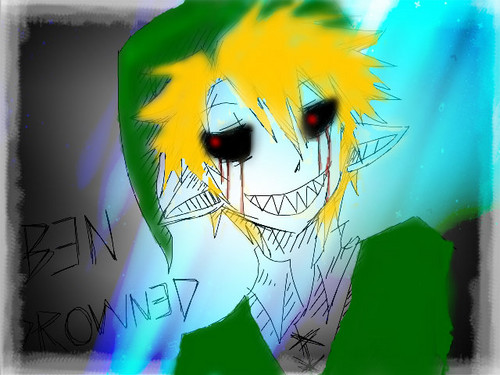 BEN DROWNED wallpaper probably with anime entitled BEN drowned