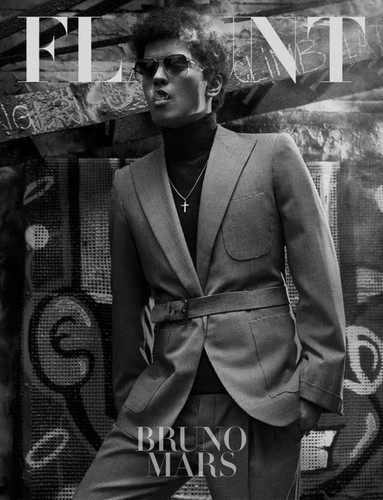 BRUNO IN FLAUNT MAG