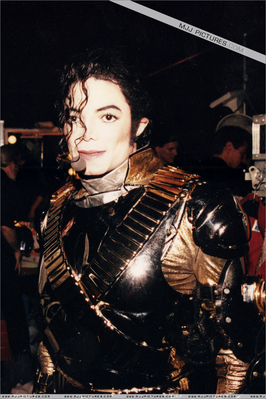 Backstage During History Tour