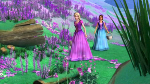 Barbie and the Diamond château