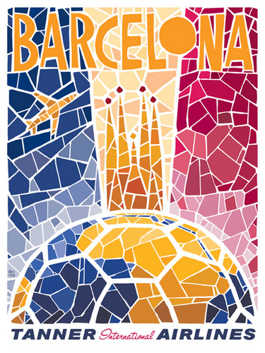 Barca Poster