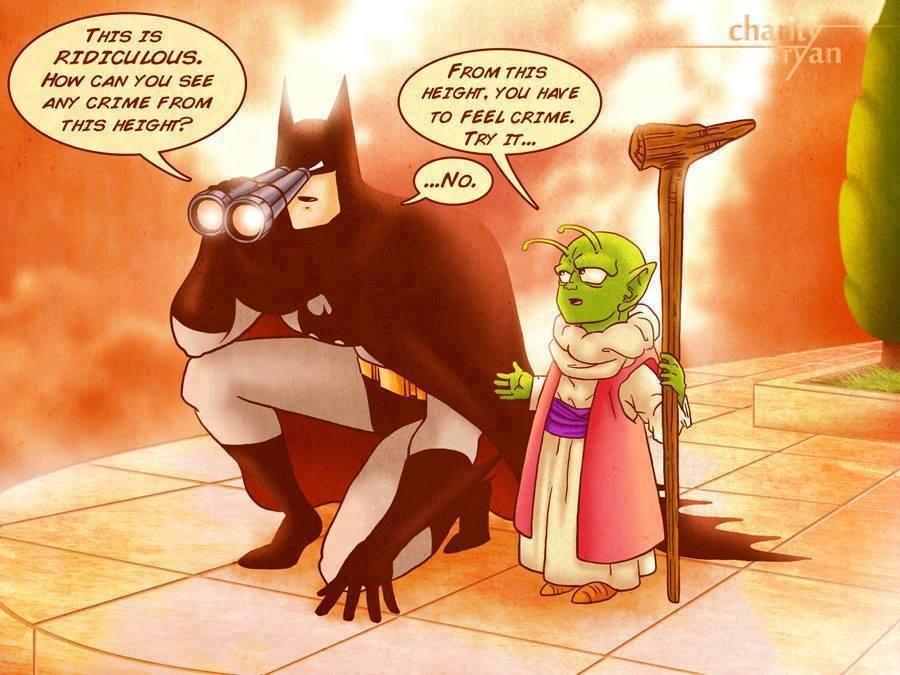 Batman and dende