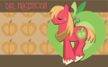 Big Macintosh with Apples - big-macintosh wallpaper