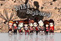 BigBang and 2NE1 chibis